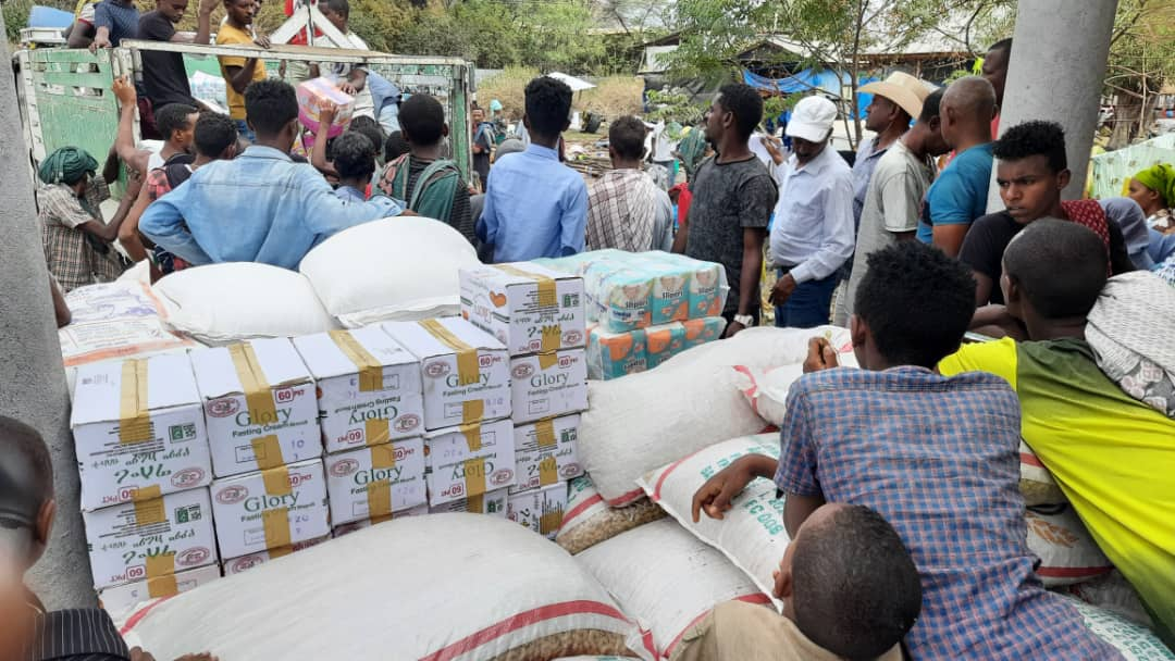 Churches provide emergency relief after rebels attacked
