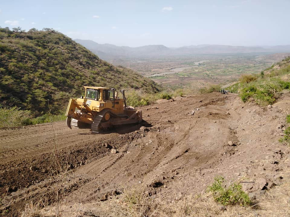 Before this road was built, locals were cut off from supplies